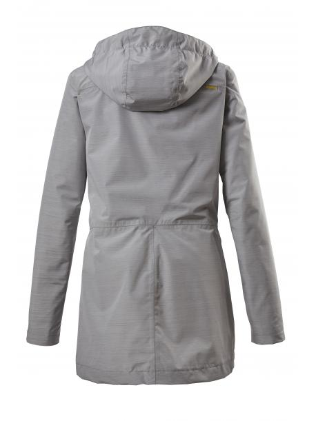 Dámská bunda (parka) KLUPCA grey melange / 36481-00211