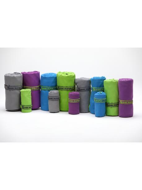 Rychleschnoucí ručník SHERPA L (80x130 cm) fialový / SHT2002 dkp
