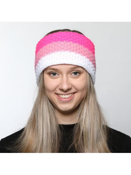 Čelenka Sherpa LIMA neon pink
