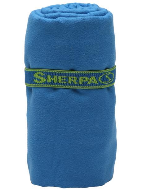 Rychleschnoucí ručník SHERPA L (80x130cm) modrý / SHT2001 blu