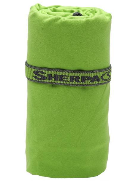 Rychleschnoucí ručník SHERPA L (80x130 cm) zelený / SHT2003 grn