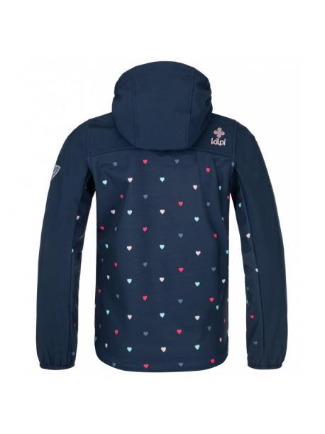 Dívčí softshellová bunda Kilpi RAVIA-J tm.modrá