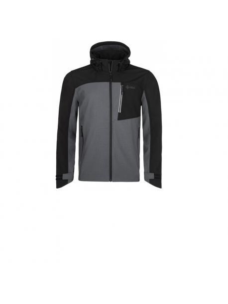 Pánská softshellová bunda Kilpi RAVIO-M tm.šedá